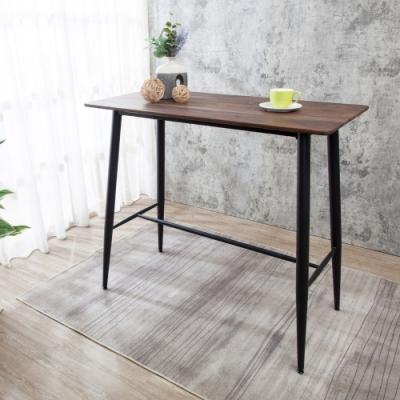 Boden-威特4尺工業風吧台桌/吧檯桌/休閒桌-120x60x108cm