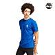 Timberland 男款海洋藍徽標LOGO短袖圓領T恤|A22RP product thumbnail 1