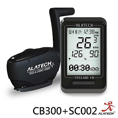 ALATECH 單車基本優惠組 (CB300車錶+SC002踏頻器)