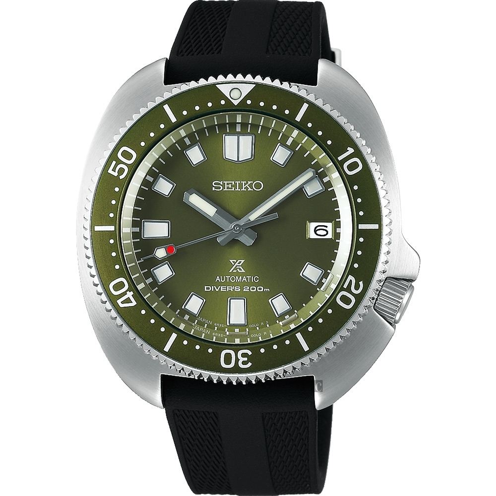 SEIKO 精工 Prospex DIVER 1970復刻機械錶(SPB153J1/6R35-00T0G)