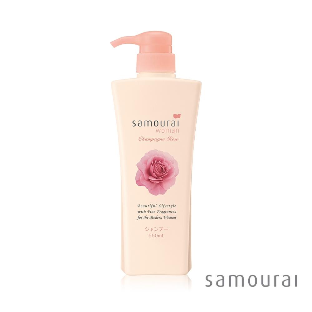 Samourai 香檳玫瑰洗髮精(550ml瓶)