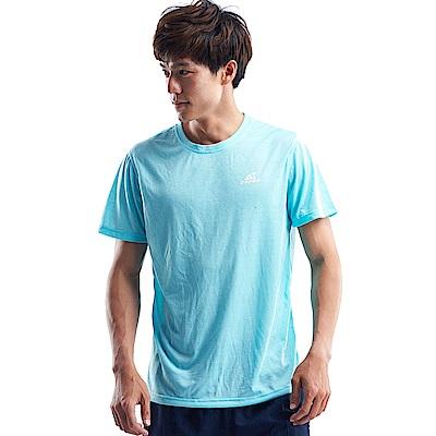 【ZEPRO】男子能量輕感透氣排汗短T-水藍