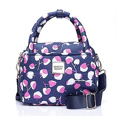 VOVAROVA空氣包-氣質兩用包-Cherrypicks(Indigo&pink)