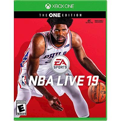 勁爆美國職籃19 NBA LIVE 19 The One - XBOX ONE 英文美版