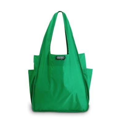 murmur A4環保購物袋│草綠
