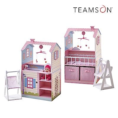 Teamson 小公主多功能木製尿布台玩具(雙面)