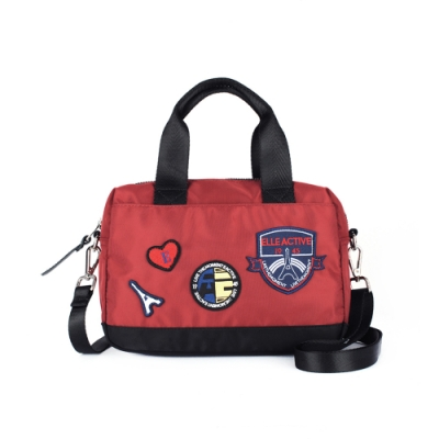 ELLE Active 巴黎遊記系列-多用手提包-紅色