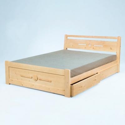 AS-曼德雲衫3.5尺實木床板床-105x195x81cm