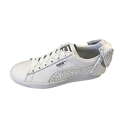 PUMA-BasketBowAnimal女籃球鞋-白色