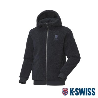 K-SWISS HS Jacket韓版運動外套-男-深藍
