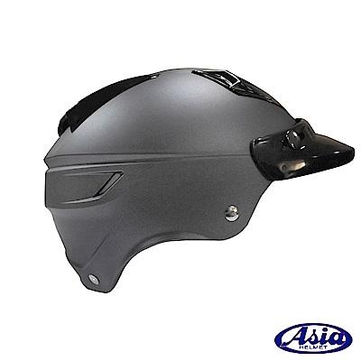 ASIA A- 613 四合扣半罩式安全帽(不含鏡片) 平灰