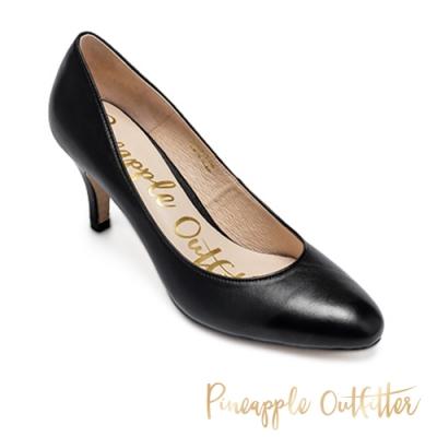 Pineapple Outfitter 基本款氣質尖頭高跟鞋-黑色