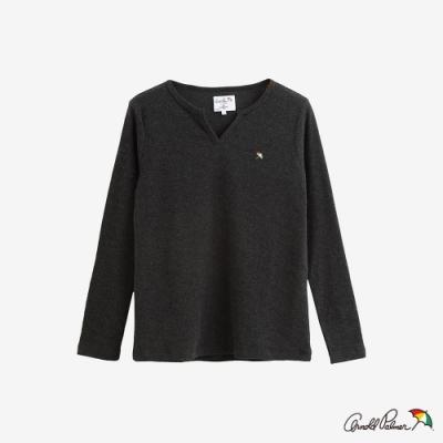 Arnold Palmer -女裝-V領基本款T恤-灰