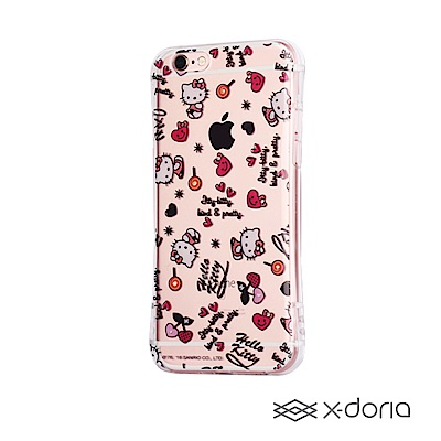 Hello Kitty iPhone 6/6s Plus 小蠻腰系列內鑲水鑽保護殼