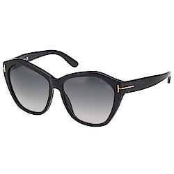 TOM FORD 造型感 太陽眼鏡-黑色-TF317