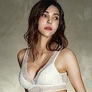 EASY SHOP-愛戀花妍 無鋼圈M-LL罩成套內衣(愛戀白)