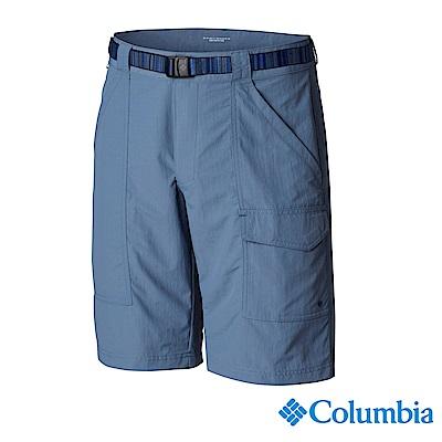 Columbia 哥倫比亞 男款-防曬UPF50防潑短褲-墨藍