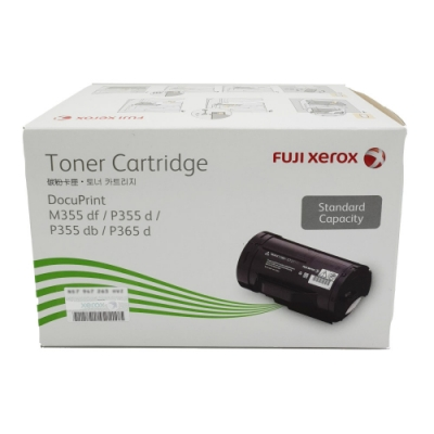 富士全錄 FUJI XEROX CT201937 原廠黑色標準容量碳粉匣