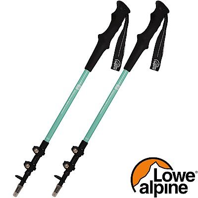 Lowe Alpine 50周年鋁合金登山杖_亮綠2支 無避震拐杖/健走杖