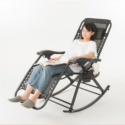 【STYLE 格調】三用多功能高透氣摺疊搖躺椅搖椅-可收折