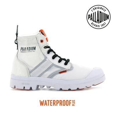 PALLADIUM PAMPA LITE+ VAPOR WP+輕量防水靴-中性-白
