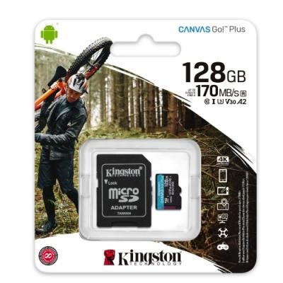 金士頓 SDCG3 MicroSDXC 170MB 128G U3 V30 A2 記憶卡