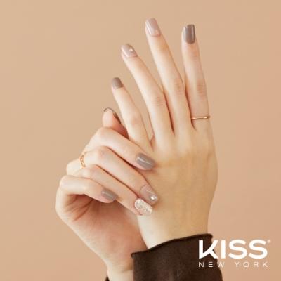 KISS New York-Press&Go頂級光療指甲貼片(可可迷霧 KPNS21K)