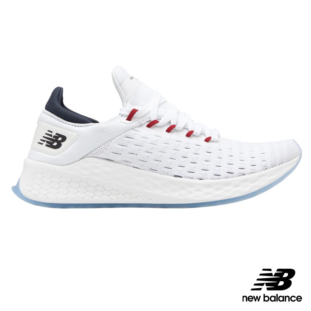 【New Balance】輕量跑鞋MLZHKLW2男 白