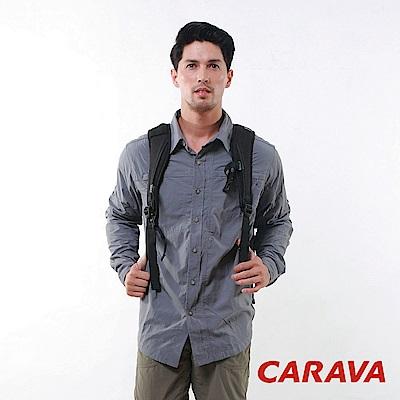 CARAVA 《男款日本原紗速乾排汗襯衫》(鈦灰)