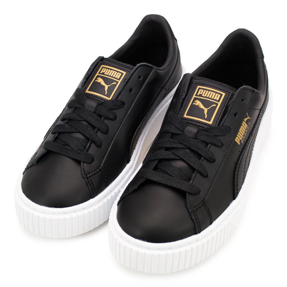 PUMA Basket Platform Core 女休閒鞋 36404003 黑