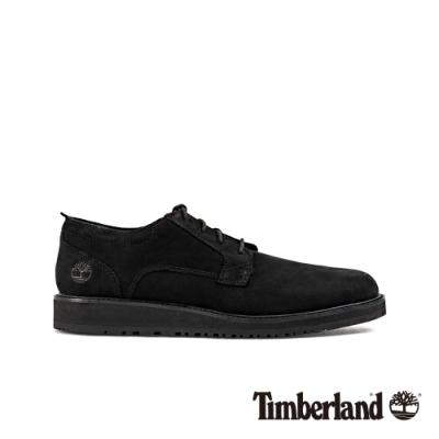 Timberland 男款黑色磨砂革休閒鞋|A29AF