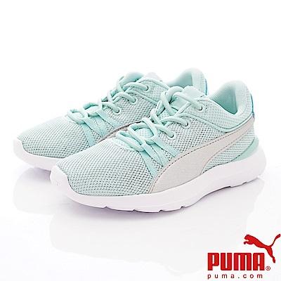 PUMA童鞋 綁帶運動款 TH69089-01綠(中小童段)
