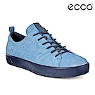 ECCO SOFT 8 LADIES 限定款簡約休閒鞋 女-牛仔藍