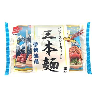OYATSU優雅食 三本麵-伊勢海老口味五入分享包(40g*5入)