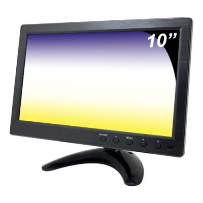 奇巧 10吋LCD液晶螢幕顯示器(AV、BNC、VGA、HDMI)