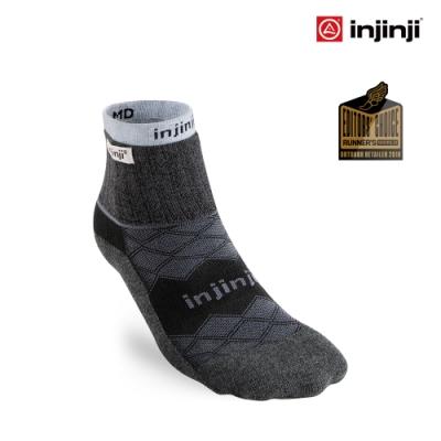 【INJINJI】Liner+Runner全方位防護跑襪組 [黑色]