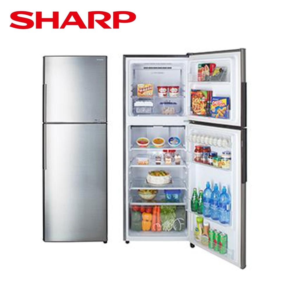 SHARP 夏普 315L 變頻雙門電冰箱 銀 SJ-GX32-SL