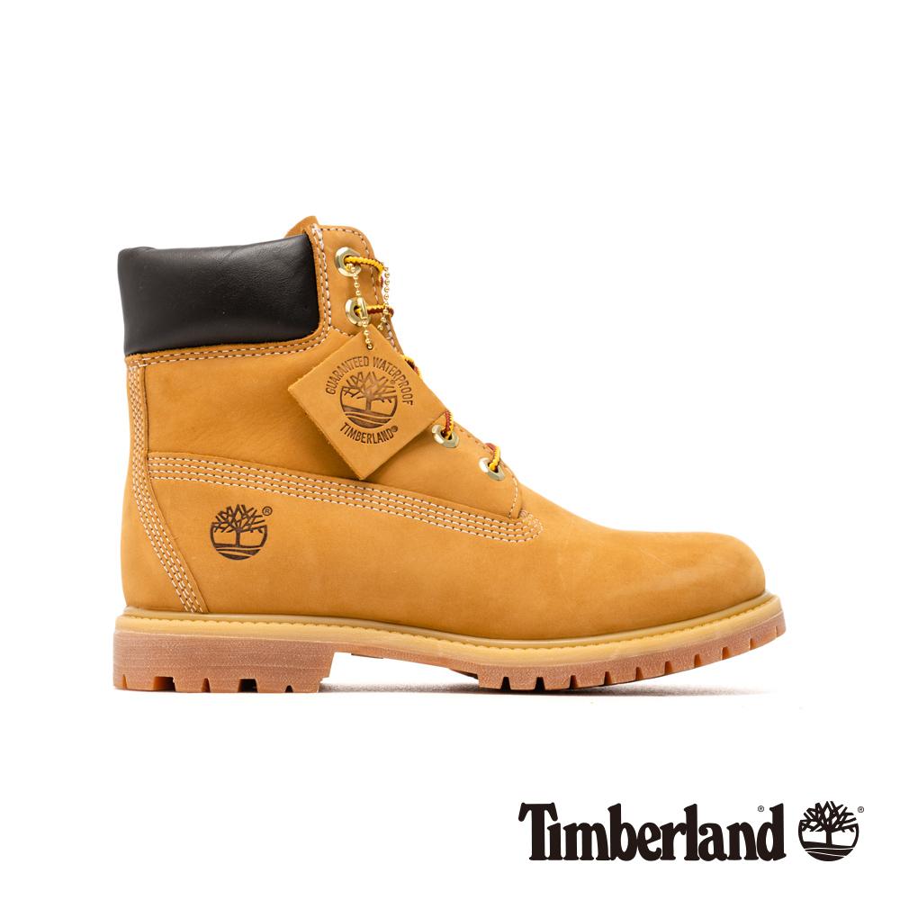 Timberland 女款經典6吋防水黃靴 | 10361713