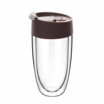 【PO:Selected】丹麥奇法雙層玻璃杯325ml(咖啡)