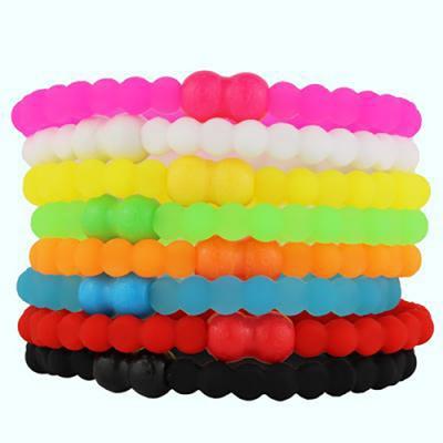 Pro Hair Tie 扣環髮圈8件組-透明心機
