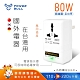 【POWER BULL動力公牛】PB-58T 80W 110V變220V數位電壓調整器/變壓器(國外電器台灣用) product thumbnail 2