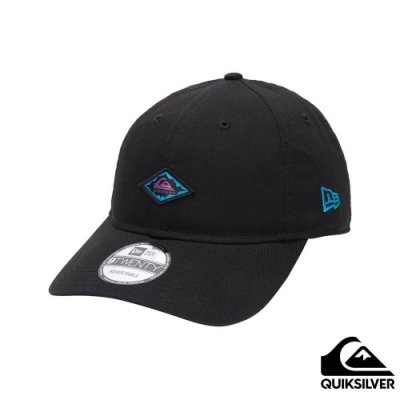 【QUIKSILVER】CURVED WORDS 棒球帽 黑色