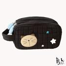 ABS貝斯貓 可愛貓咪手工化妝包 88-008
