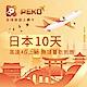 【PEKO】日本上網卡 10日高速4G上網 無限量吃到飽 優良品質高評價 快速到貨 product thumbnail 1