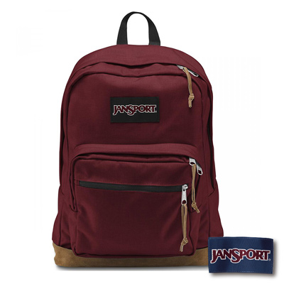 JanSport -RIGHT PACK系列後背包 -聖誕紅