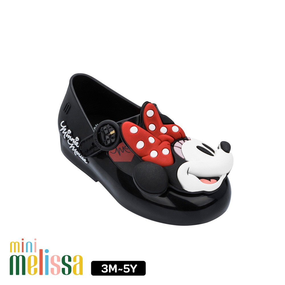Melissa Mickey聯名款 米妮Face娃娃鞋(寶寶款)-黑