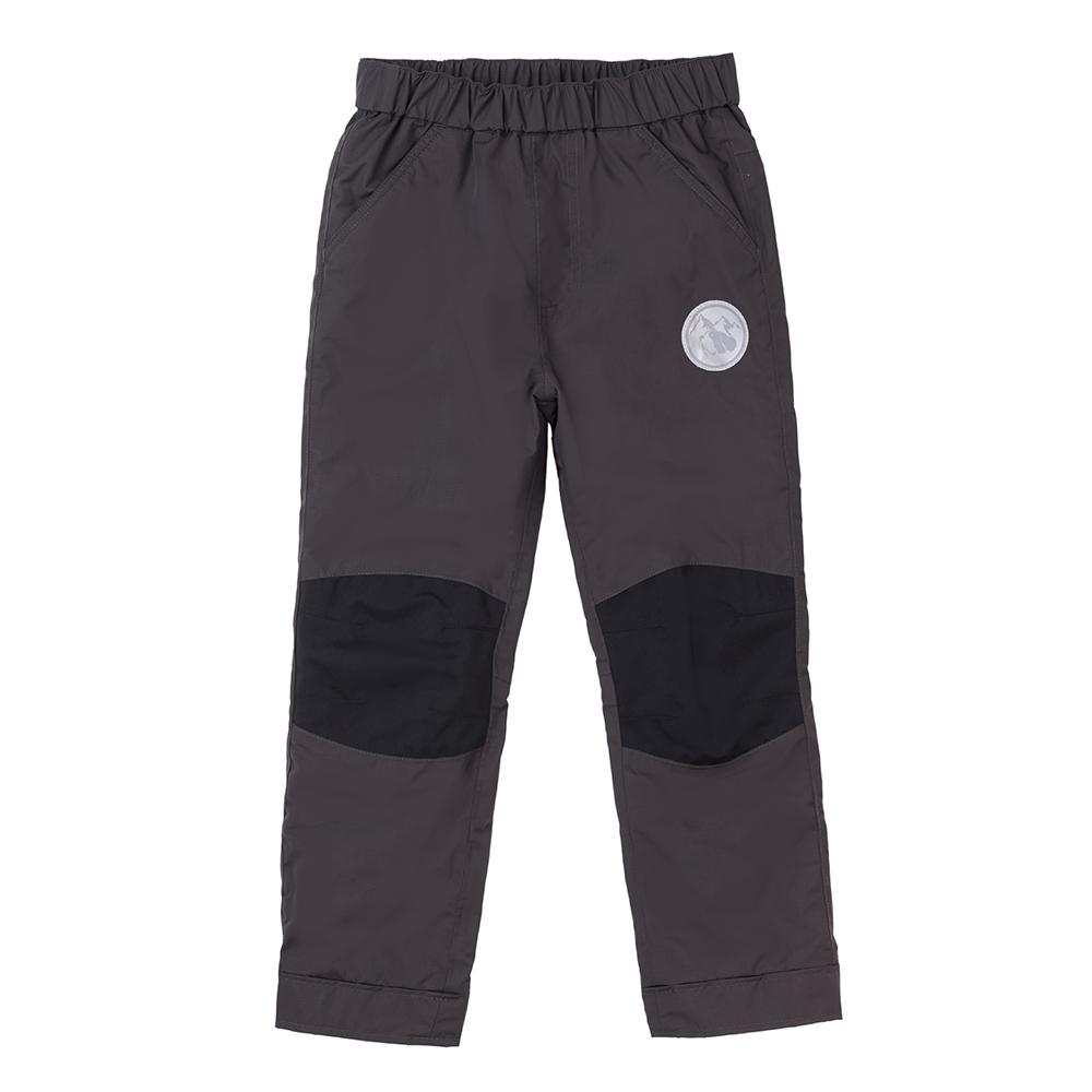 【St. Bonalt 聖伯納】童款內刷毛衝鋒褲 (8156-黑灰) 防風  防水 保暖 透氣