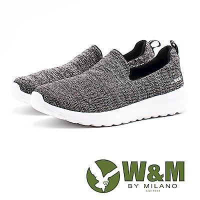 W&M 流砂紋路 極簡休閒女鞋-黑(另有紫)