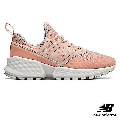 [五月DM] New Balance復古鞋WS574PCD-女粉紅
