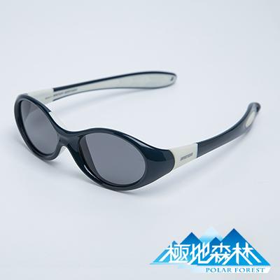 【極地森林】兒童深灰色偏光鏡片TR90運動太陽眼鏡墨鏡